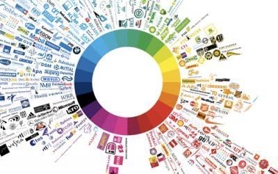 ¿Qué transmiten los colores en un logotipo?